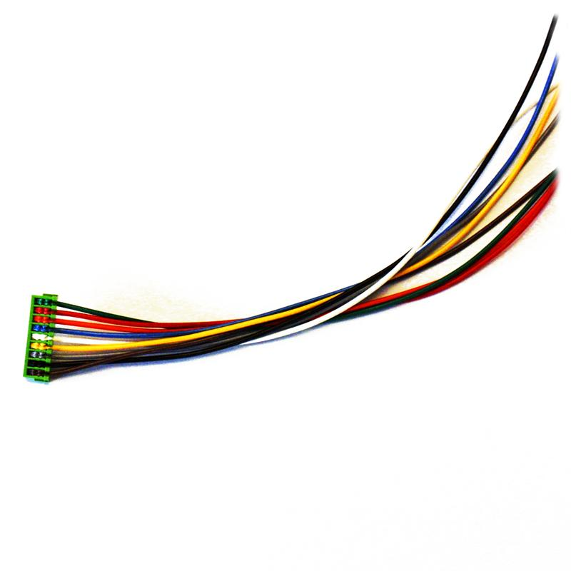 soundtraxx 810135 wire harness 9 pin jst to 8 pin nmra
