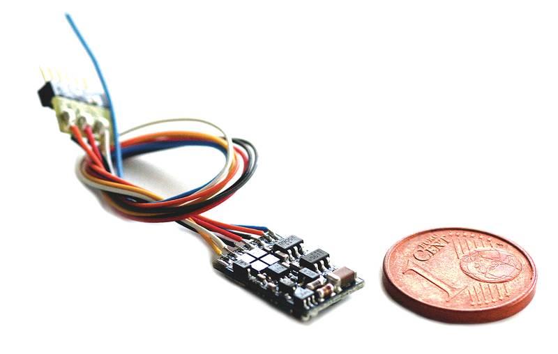 Esu 54686 lokpilot v4 0 micro nmra dcc decoder nem662 next18 connector