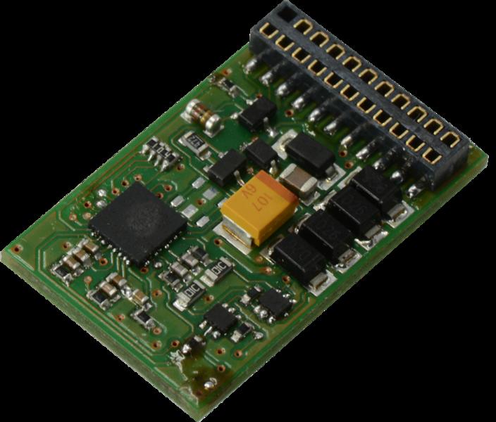 Esu 53614 lokpilot standard nmra dcc decoder 21 pin mtc plug