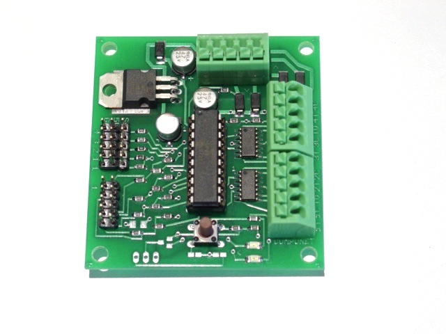 Team digital dcc accessory decoder smc4 servo amp motor controller