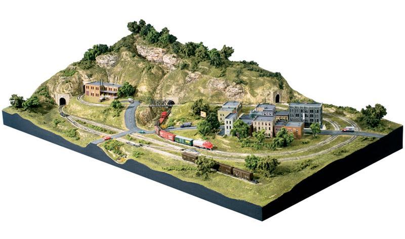 Woodland scenics 1482 scenic ridge n scale layout kit