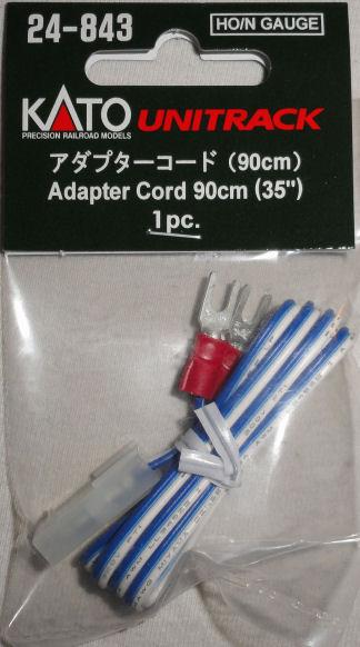 "KATO 24-843 Terminal Adapter Cord 35/"""